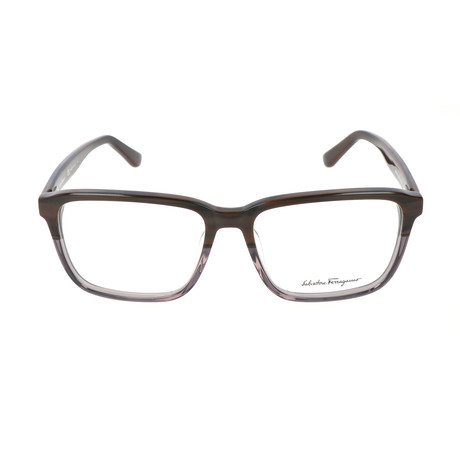 Men's SF2738 Frames // Dark Brown + Horn Grey (56mm)