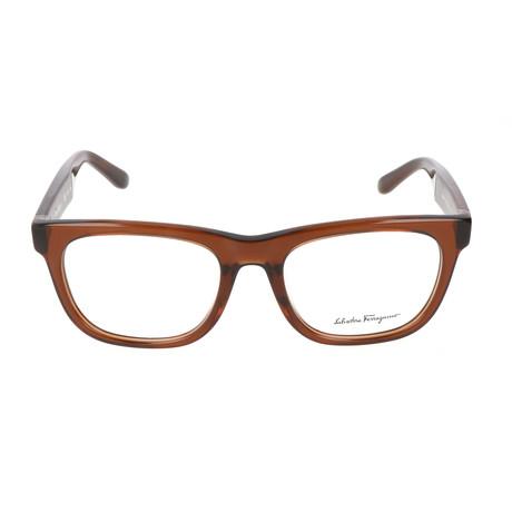 Men's SF2737 Optical Frames // Brown