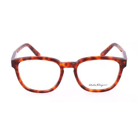 Unisex SF2752 Optical Frames // Red Tortoise