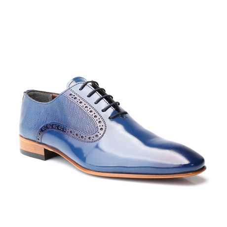 Percy Patent Oxford // Dark Blue (Euro: 39)