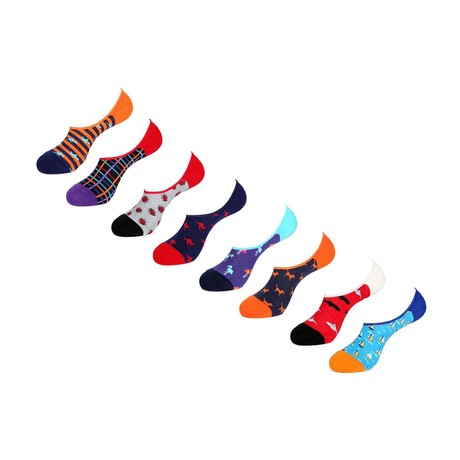 No Show Socks // Michael // Pack Of 8