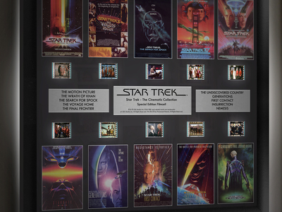Photo of LED Movie Memorabilia Vivid Wall Art + Film Collectibles Star Trek // Through The Ages by Touch Of Modern