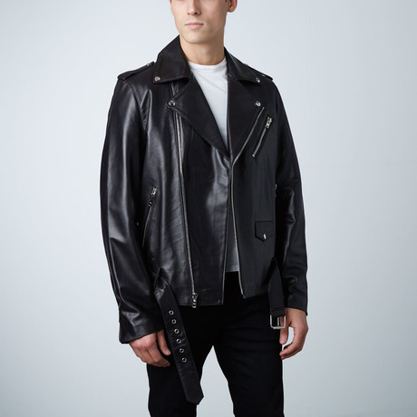Mason + Cooper // Bane Leather Jacket // Black (S)