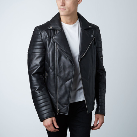 Mason + Cooper // Ethan Leather Jacket // Black (S)