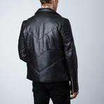 Mason + Cooper Ethan Leather Jacket // Black (S)
