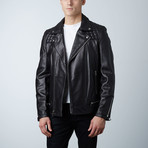Mason + Cooper Astor Leather Jacket // Black (S)