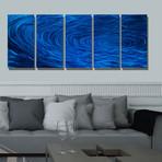 Blue Ripple Effect