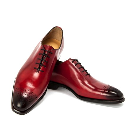 Leonardo Dress Shoe // Red (UK: 6)