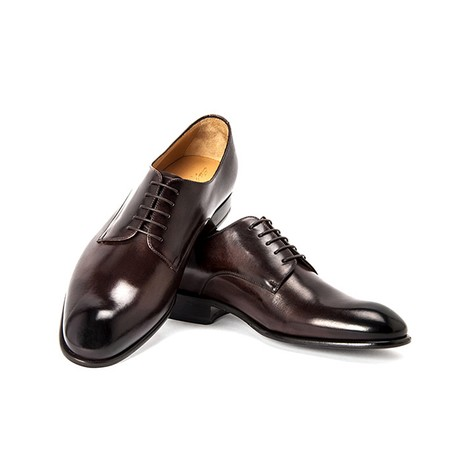 Guttuso Dress Shoe // Dark Brown (UK: 6)