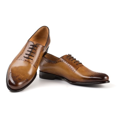 Dante Dress Shoe // Brown (UK: 6)