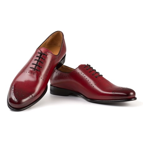 Dante Dress Shoe // Red (UK: 6)