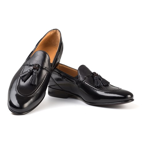 Senna Tassel Loafer // Black (UK: 6)