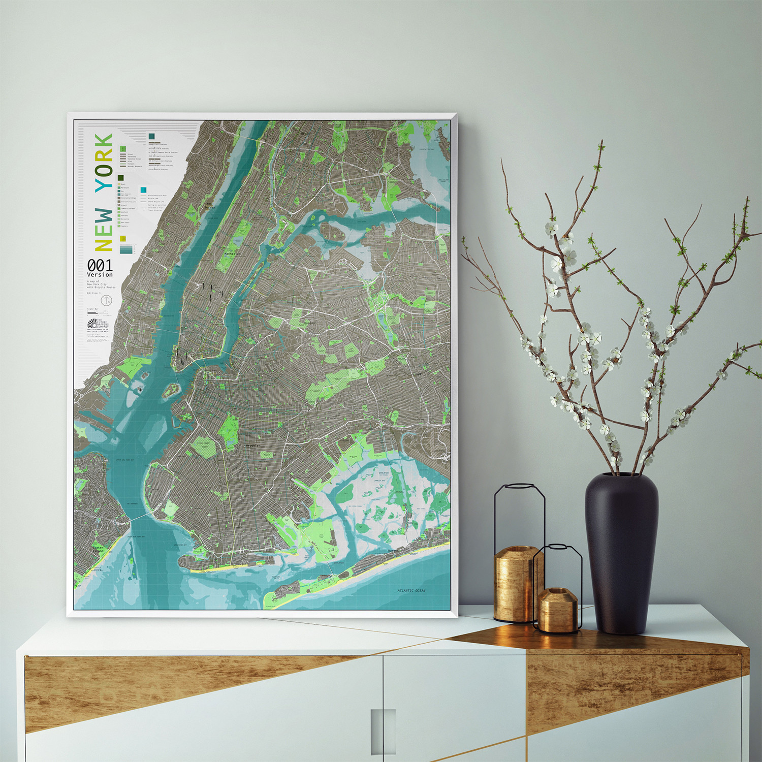 New York City Street Map Version Paper The Future Mapping - New york street map wallpaper