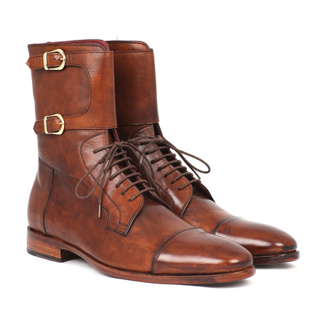 Above-Ankle High Boot // Brown (Euro: 37)