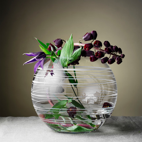 Graphic Vase (Round)