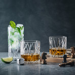 City Double Old Fashioned // Set of 4
