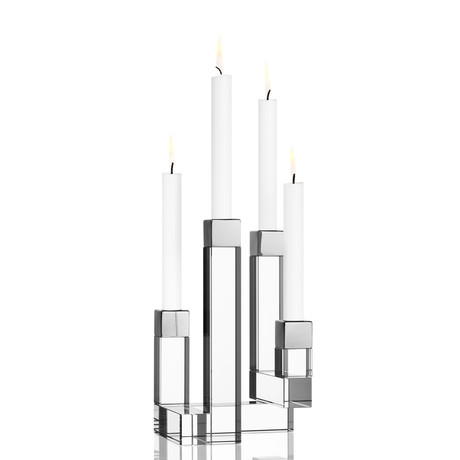 Chimney Candleholder (2 Arms)