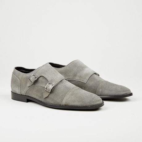 Double Monk Strap // Grey (Euro: 40)