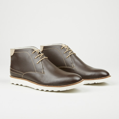 Clean Ankle Boot // Brown (Euro: 40)