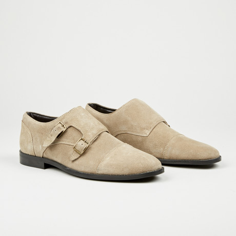 Double Monk Strap // Light Brown (Euro: 40)