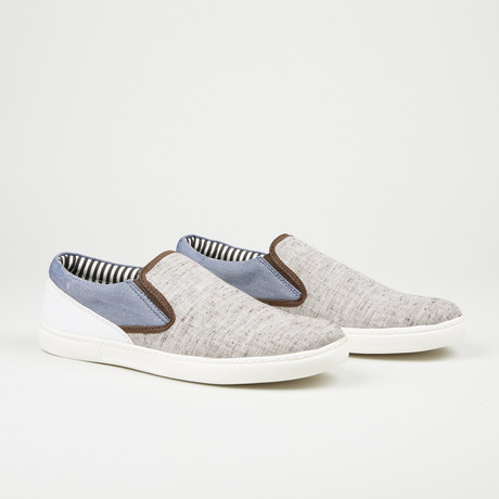 Casual Slip-On // Grey (Euro: 40)