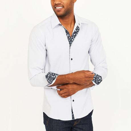 Wallace Button-Up Shirt // Light Grey (S)