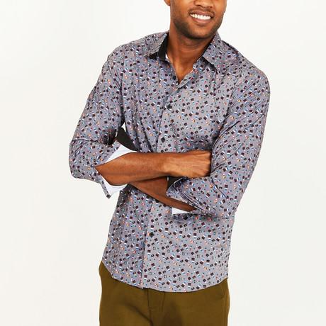 Isaac Button-Up Shirt // Grey (S)