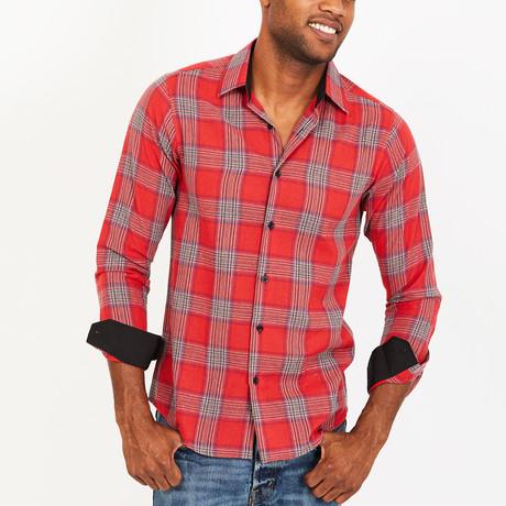 Hank Button-Up Shirt // Red (S)