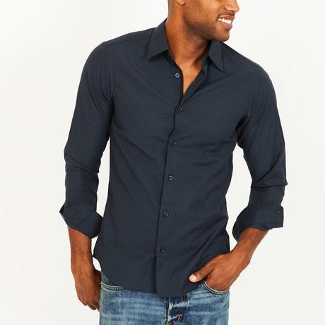 Jacob Button-Up Shirt // Navy (S)