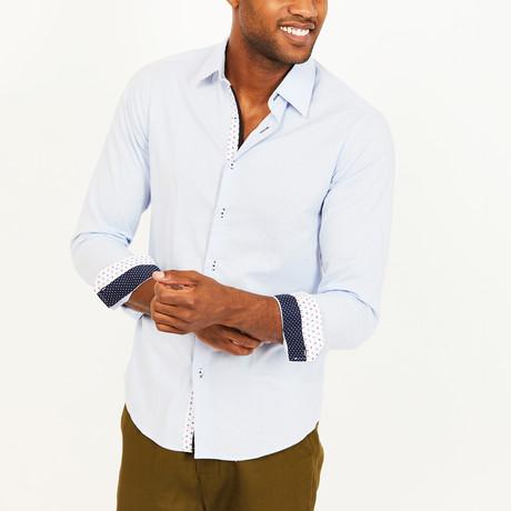 Harvey Button-Up Shirt // Light Blue (S)