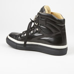 High Top Sneaker // Black (US: 6)