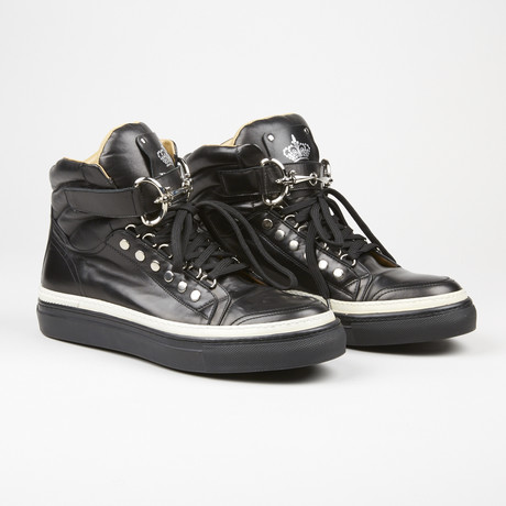 High Top Sneaker // Black (US: 7)
