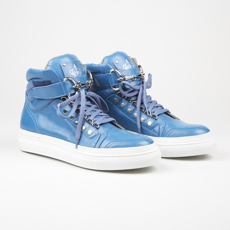 High Top Sneaker // Blue (US: 6)