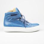 High Top Sneaker // Blue (US: 10)
