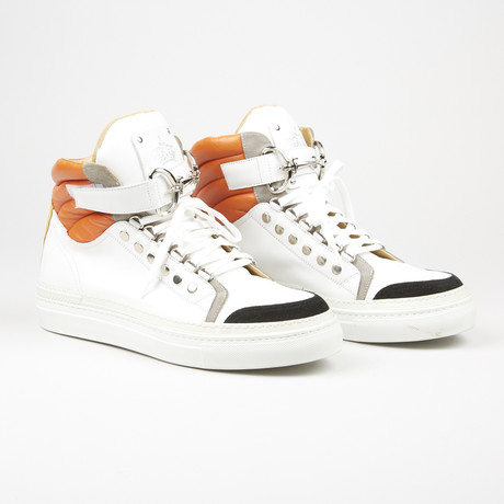 High Top Sneaker // White (US: 6)