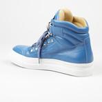High Top Sneaker // Blue (US: 6)
