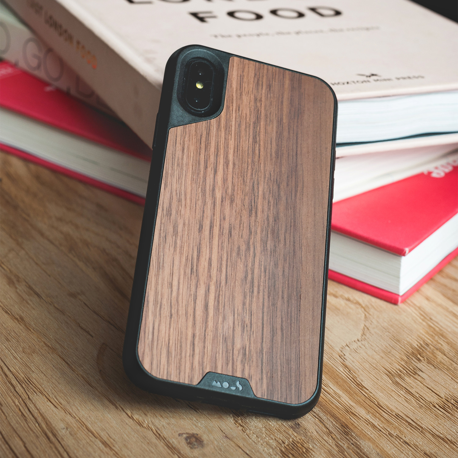 online store 73ac8 e94fd Walnut (iPhone X) - Mous - Touch of Modern