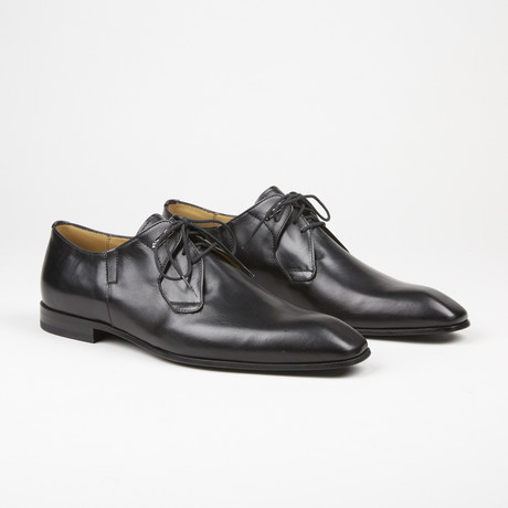 Plain To Lace Up Loafer // Black (US: 6)