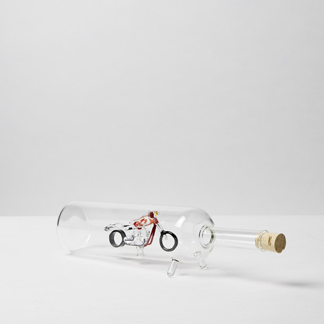 Lying Bottle // Harley Motor