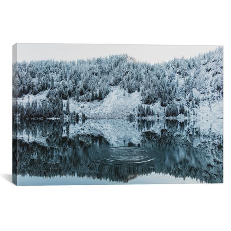 "Lake 22 Reflections III // Christopher Kerksieck (26""W x 18""H x 0.75""D)"