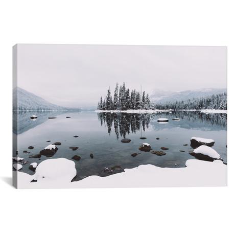 "Lake Wenatchee, Washington // Christopher Kerksieck (26""W x 18""H x 0.75""D)"