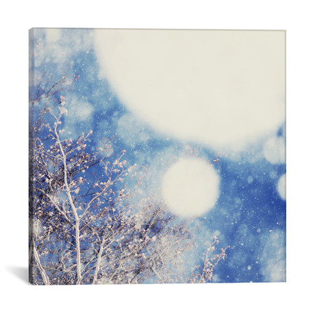 """Snow And Trees II // Chelsea Victoria (18""""W x 18""""H x 0.75""""D)"""