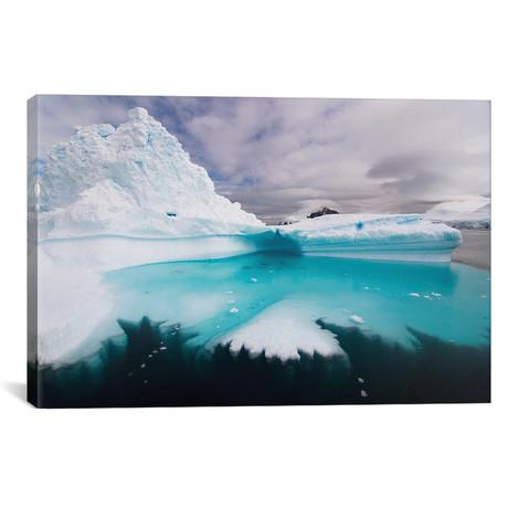 "Floating Iceberg, Southern Ocean // Steve Kazlowski (26""W x 18""H x 0.75""D)"