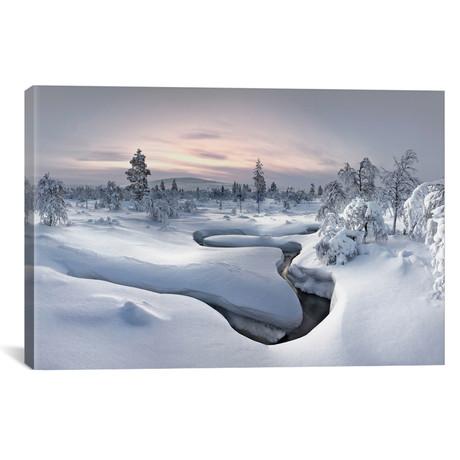 """Kiilopaa Fell Center, Lapland, Finland // Christian Schweiger (26""""W x 18""""H x 0.75""""D)"""
