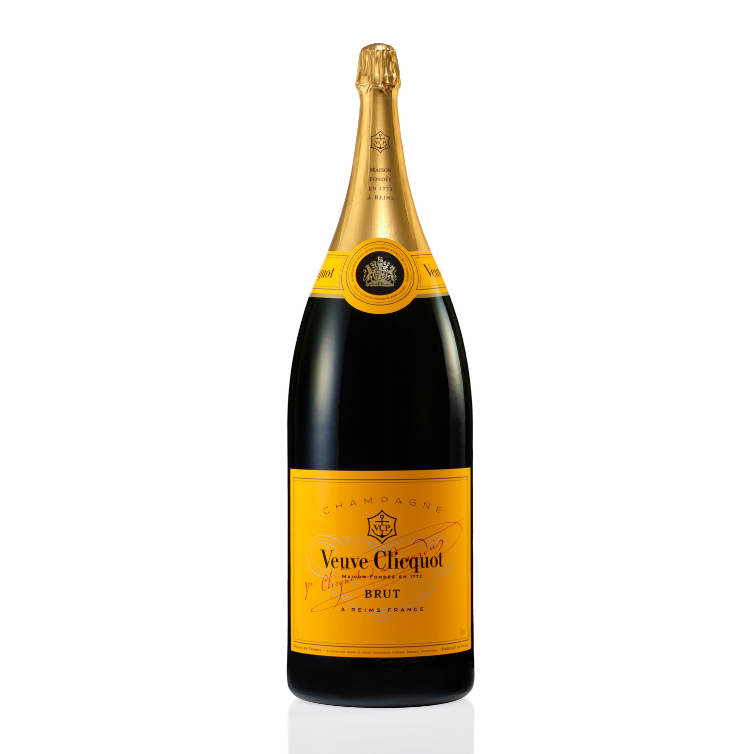 veuve clicquot brut champagne 15 liter nebuchadnezzar the nebuchadnezzar collection touch. Black Bedroom Furniture Sets. Home Design Ideas