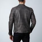 Leather Jacket // Black Wash (S)