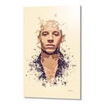 """Vin Diesel // Aluminum (16""""L x 24""""H x 1.5""""D)"""