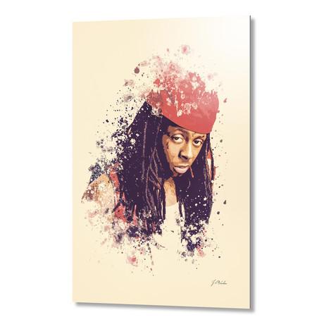 """Lil Wayne // Aluminum (16""""L x 24""""H x 1.5""""D)"""