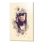 """50 Cent // Aluminum (16""""L x 24""""H x 1.5""""D)"""