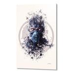 "Mortal Kombat, Subzero // Aluminum (16""L x 24""H x 1.5""D)"